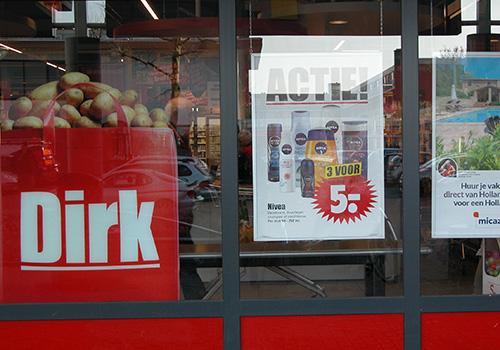 Dirk Supermarkt Winkelcentrum Crabbehof